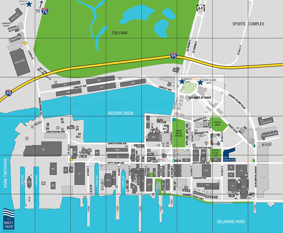 The Navy Yard | A Campus Built for Business Growth | Philadelphia, PA